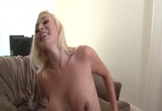 Busty blonde enjoying incest fucking