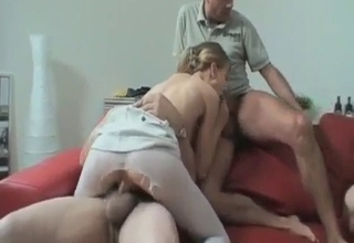 All family fuck-fest, foursome style