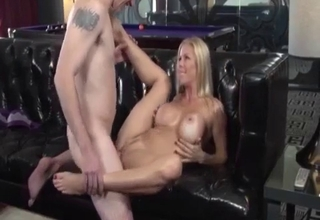 Big-breasted mommy getting destroyed