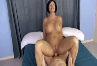 Mannish mommy getting fucked hard