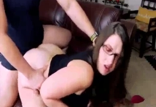 Submissive big booty sis gets wrecked