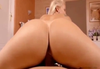 Big booty bitch violated from behind