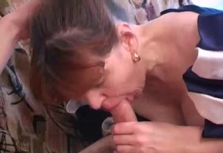 Nasty mommy sucking it real hard
