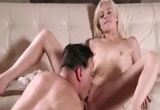 Blonde getting gaped like a slut