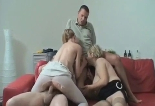 Incredible incest with two crazy sluts