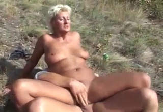 Outdoors foursome, total incest madness