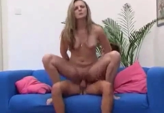 Blonde fucked by her own nephew
