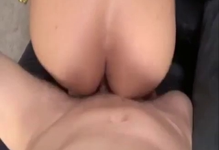 Big-breasted bombshell loves riding it