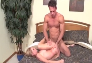 Insanely passionate sex with her relative