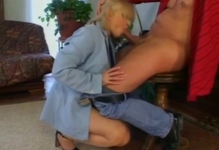 Dude is ready to blow his load inside of her