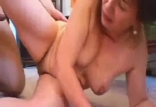 She rides that cock like crazy here