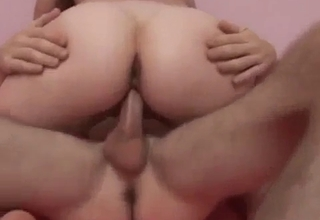 Unbelievable cock-riding with an easy chick