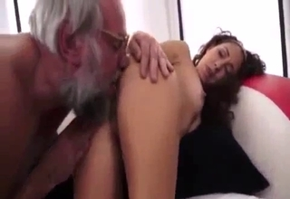 Dad molesting his kinky-ass daughter