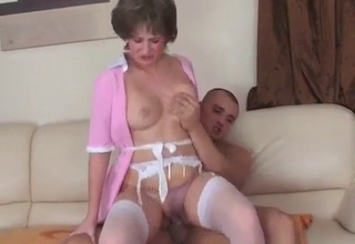 Maid gets her pussy licked real nice