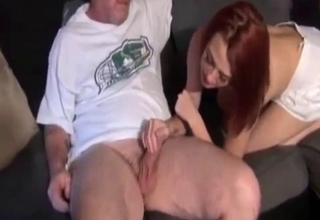 Father/daughter duo end up fucking