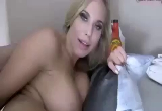 Blonde cannot stop enjoying the incest
