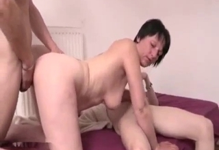 Blowjob and doggy style sex here