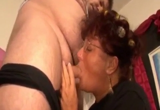 Mommy is gonna fuck her fat son
