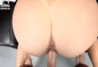 Big booty bitch fucked hard in POV