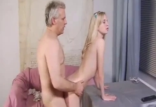 Dad wants to punish his little girl