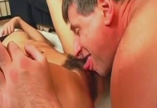Cock ring dude gets a nice blowjob