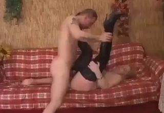 Mommy's hairy pussy gets ruined
